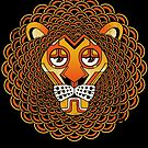 Deco Lion by qetza
