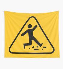 Tela decorativa Advertencia- Juguete ladrillos de plástico