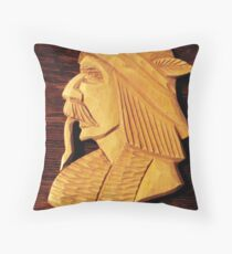 Feather in his Cap Throw Pillow