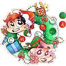 A Markimoo Christmas by darkmagicswh