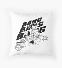 BIGBANG BANG BANG BANG (Black) Throw Pillow