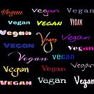 Colorful Vegan Multi Fonts by WdstckReveries