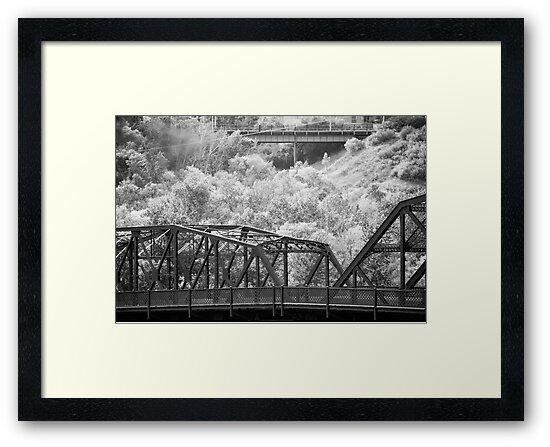 Two Bridges by Randall Talbot