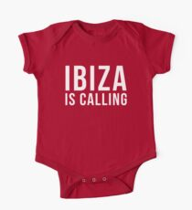 Ibiza Is Calling 2 Music Quote One Piece - Short Sleeve