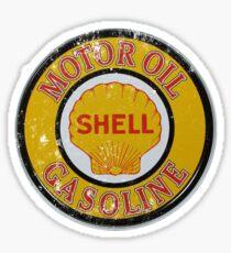 Vintage Shell Motor Oil Sign Sticker