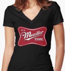 Es ist Mueller Time Verräter Shirt mit V-Ausschnitt
