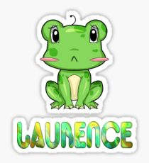Laurence Frog Sticker
