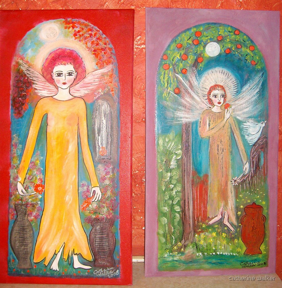 A pair of Angels by catherine walker