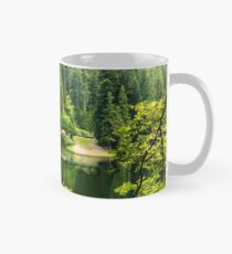 lake in pine forest Classic Mug