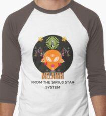 Melanin From The Sirius Star System Men's Baseball ¾ T-Shirt