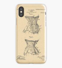 1908 Patent Corset iPhone Case