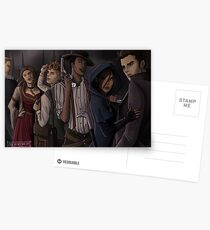 Six of Crows-The Dregs Postcards