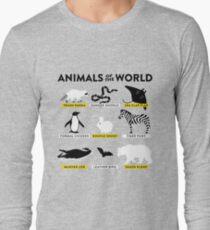 Animals of the world Long Sleeve T-Shirt