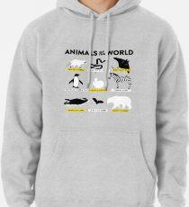 Tiere der Welt Hoodie