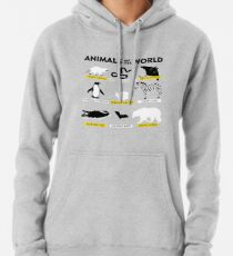 Animals of the world Pullover Hoodie