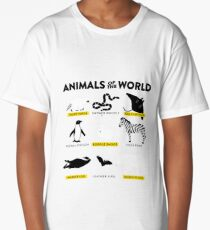 Animals of the world Long T-Shirt