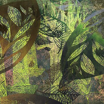 lush forest abstract by mariannat