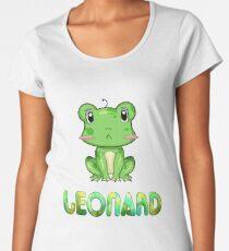 Leonard Frog Frauen Premium T-Shirts