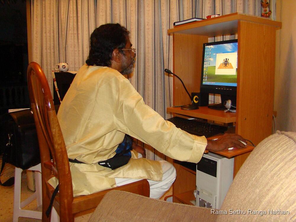 Checking PC In KL Malaysia by Rama Sethu Ranga Nathan