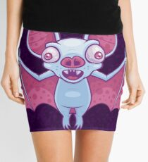 Albino Vampire Bat Mini Skirt