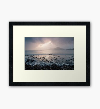 Jewel In The Sky Framed Print