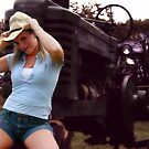 Farmers Daughter by Clayton Bruster