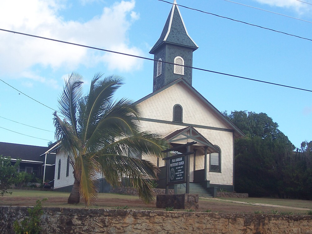 another old church in Maui by revdrrenee