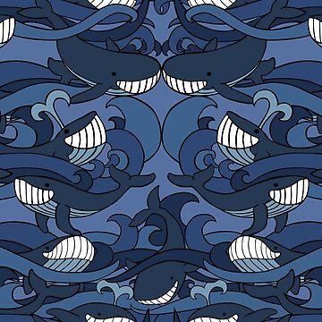 Ocean Whales by Kravache