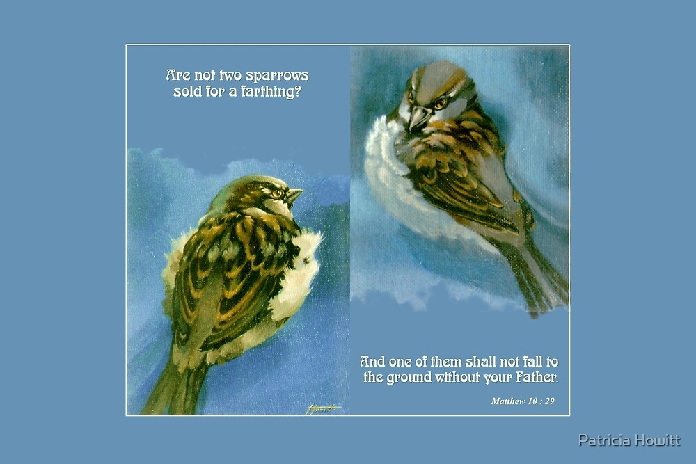 Two Sparrows by Patricia Howitt
