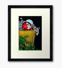 Holly Holiday Framed Print