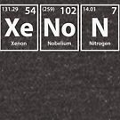 Xenon (Xe-No-N) Periodic Elements Spelling by cerebrands