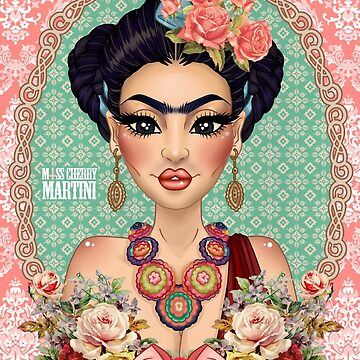 "Frida Kahlo ""Against all Odds"" *Pink Version by CherryMartini"
