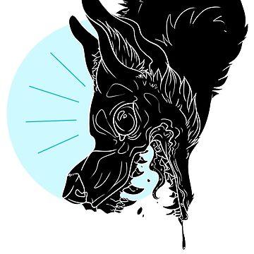 SNARL (Black + Cyan) by sephinta