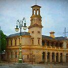 Beechworth Post Office by Stuart Row