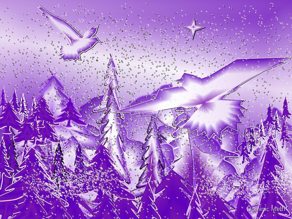 Purple Winter by Dominic Melfi