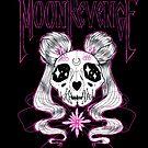 Moon Kitty Skull by JollyNihilist