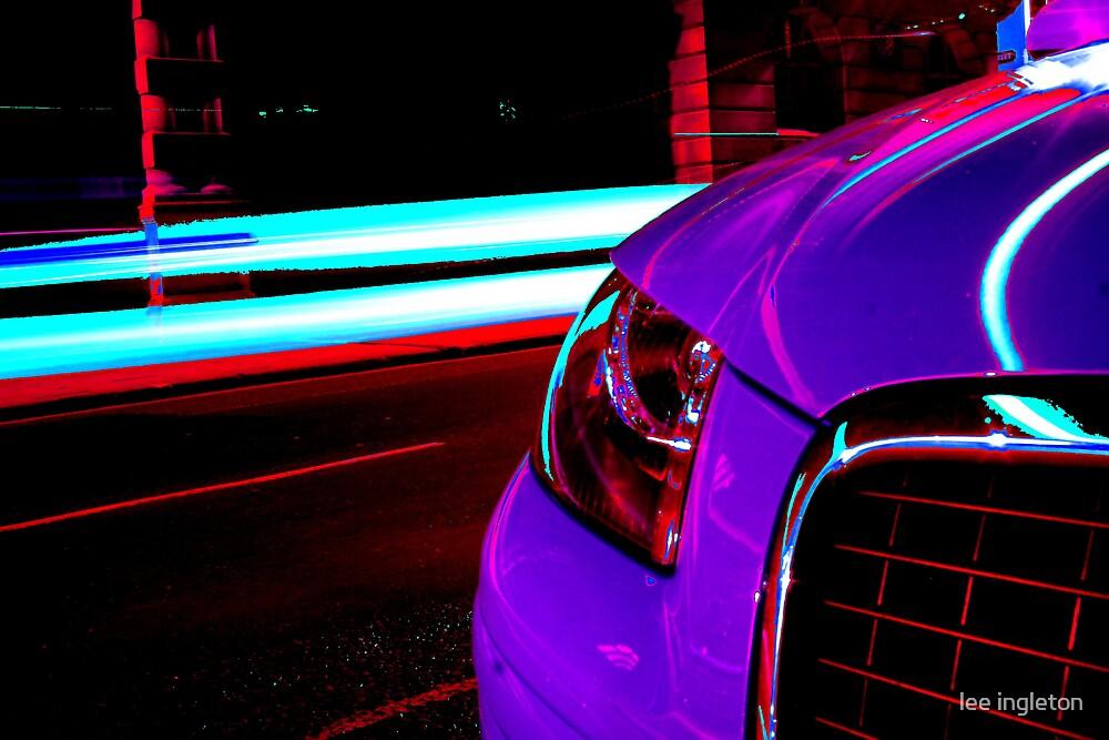 Funky car by lee ingleton