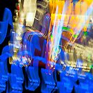 Car Console at Night - Long Exposure by Buckwhite