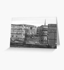 Demolition Greeting Card