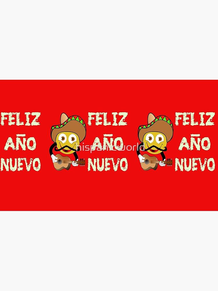Happy New Year Spanish Holiday Celebration by hispanicworld