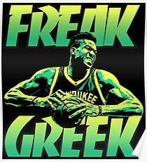 freak greek Poster