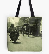 Rush Hour  Tote Bag