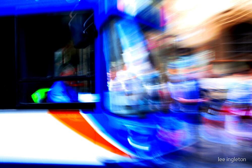 Oxford bus by lee ingleton