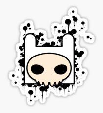 Finn Skull Sticker