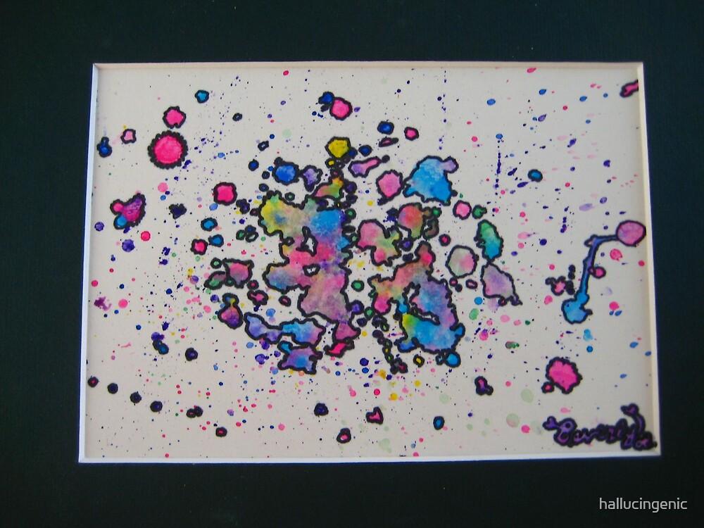 Watercolor Boredum by hallucingenic