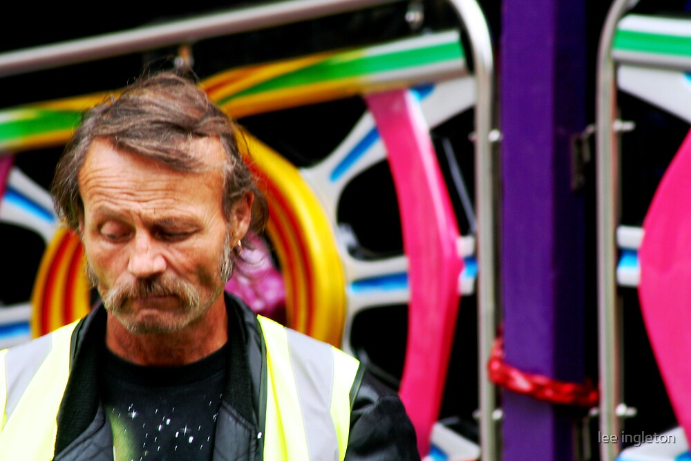 Grumpy worker by lee ingleton