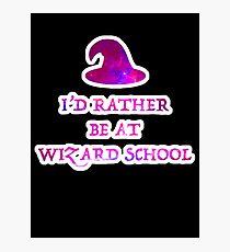 Wizard School Photographic Print
