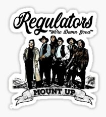 Regulators Sticker