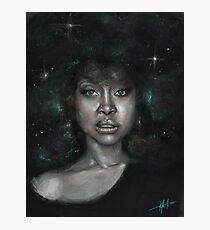 Erykah Badu Fantastic Galactic Painting Photographic Print