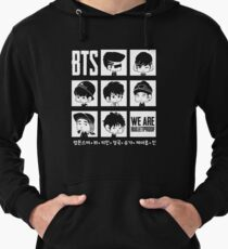 BTS WE ARE BULLETPROOF Chibi Lightweight Hoodie
